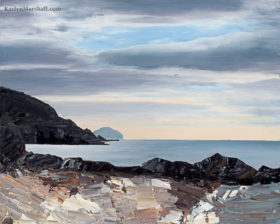 ailsa craig scottish seascape