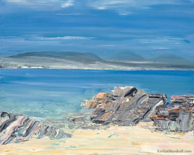 azure scottish seascapes